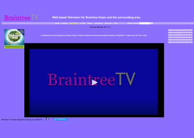 Braintree TV